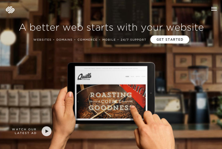 SquareSpace Build Your Own Website