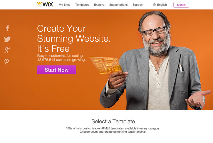Wix Build Your Own Website