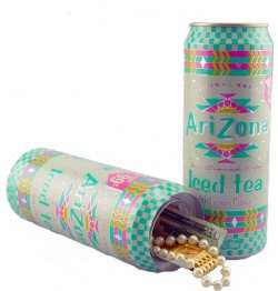 arizona tea safe secret hiding place