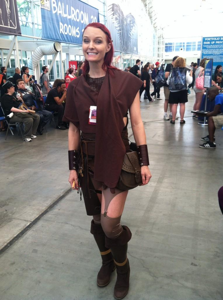 Comic-Con 2014 Female Cosplayer