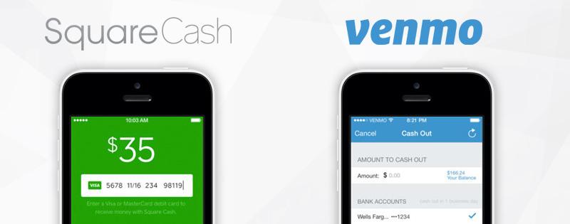 squarecash venmo online spending