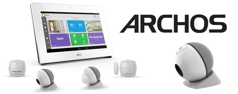 ARCHOS Home Security Teaches Your Home Self Defense