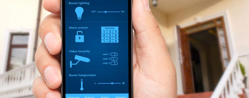 How To Connect Your Home Alarm To Smartphone