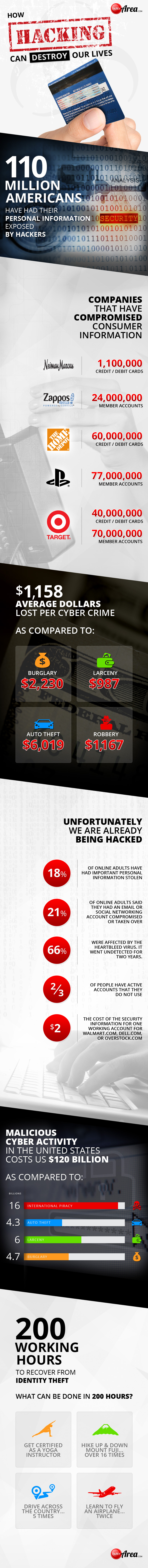 hacking infographic